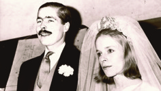 Above  Lord Lucan when he was young (and first diagnosed) and getting  married 84496f589